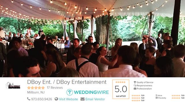 Wedding Reception DJs Madison NJ